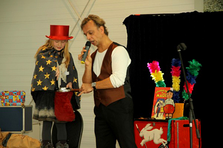 Goochelaar Rene Laurant, Wonderful Magic Entertainment