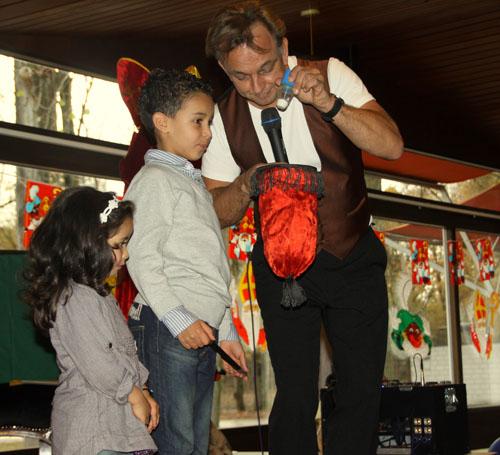 Goochelaar, Sinterklaasfeest